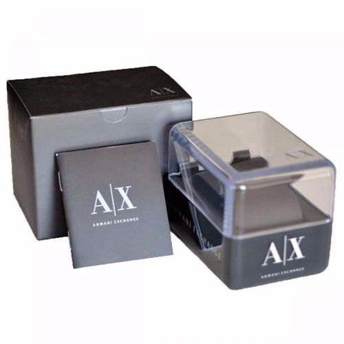 Relogio Armani Exchange 100% Original AX2123Z Pulseira Couro  - E-Presentes