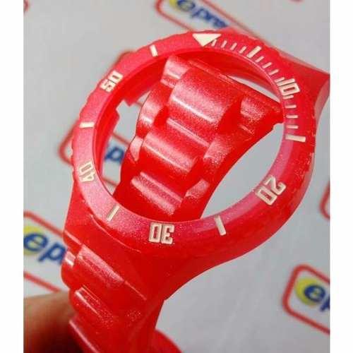Pulseira Original Champion Vermelho Perolizado Pr30919v  - E-Presentes