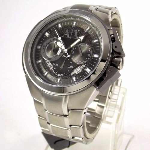 Relogio Armani Exchange Analógico Original UAX1039Z Grande  - E-Presentes