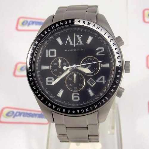 Relogio Armani Exchange Analógico Original UAX1254Z Grande - E-Presentes