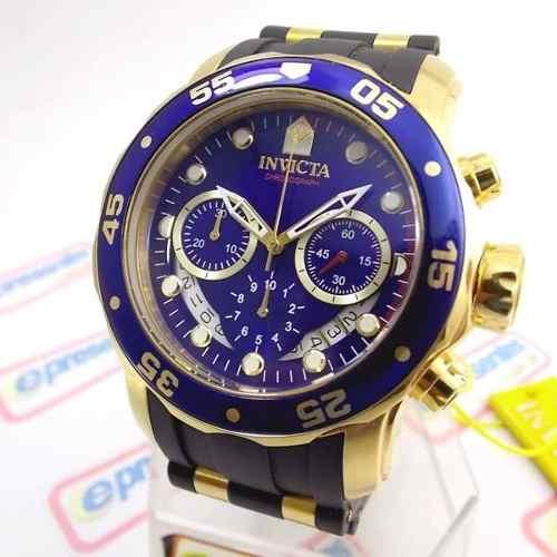 Relogio Masculino Invicta 6983 Pro Diver Cronograph Gold  - E-Presentes