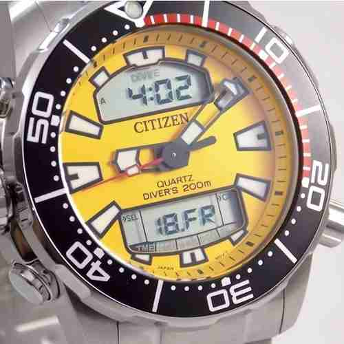 Relogio Masculino Citizen Aqualand JP1090-86X  - E-Presentes