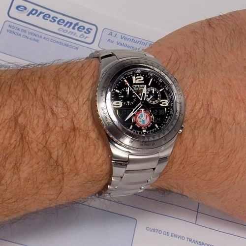 Relógio Citizen Ecodrive Skyhawk Esquadrilha Fumaça JR3160-54e  - Alexandre Venturini