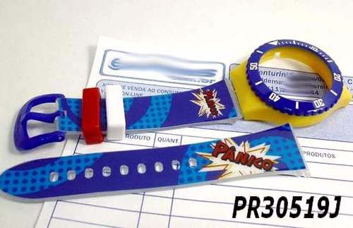 Pulseira Champion Avulsa Panico Pr30519j - 100% Original  - E-Presentes
