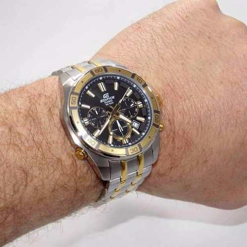 Relógio Casio Edifice EFR-534SG Com Iluminação 100% Original  - Alexandre Venturini