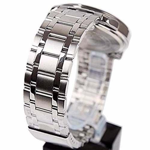 71f5284466c Relógio Masculino Casio Analógico Aço Azul 100%original Wr50 - E-Presentes