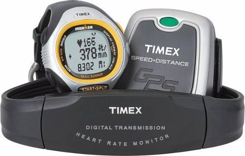 Relogio Timex Monitor Cardíaco Velocidade/distância Via Gps  - E-Presentes