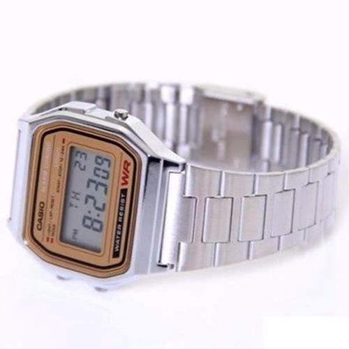 Relógio Casio Retrô A158 WEA-9JF 1ano Garantia 100%original  - E-Presentes