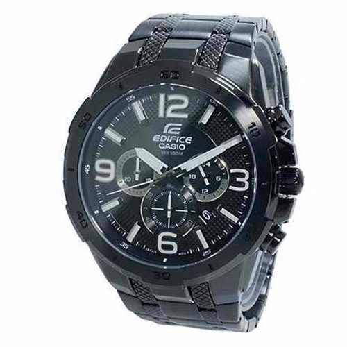 Relógio Casio Edifice EFR-538BK-1AV Black Ip Original C/nf  - E-Presentes