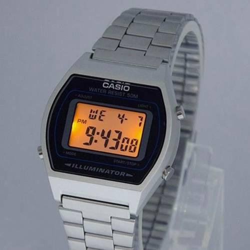Relógio Casio Nova Serie Retrô Prata Wr50 Illuminator B640  - Alexandre Venturini