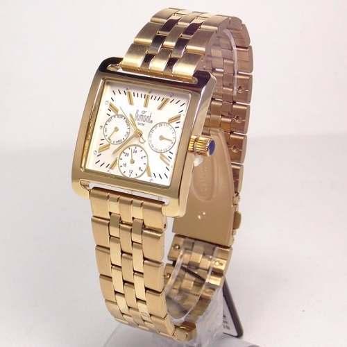 Relógio Feminino SZ85201B Dumont Dourado  - E-Presentes