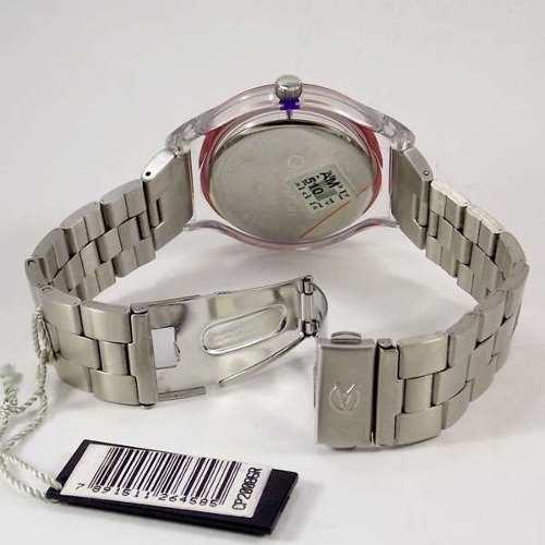Relógio Feminino Champion Mostrador Vermelho CP20086R  - E-Presentes