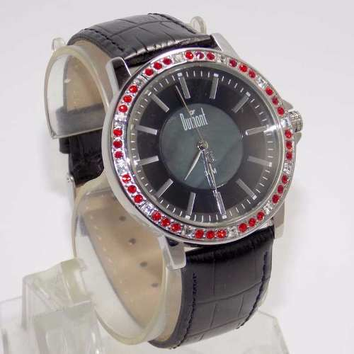1adfa9f5ee1 SX35196P Relógio Dumont Feminino Pulseira Couro Preto - E-Presentes