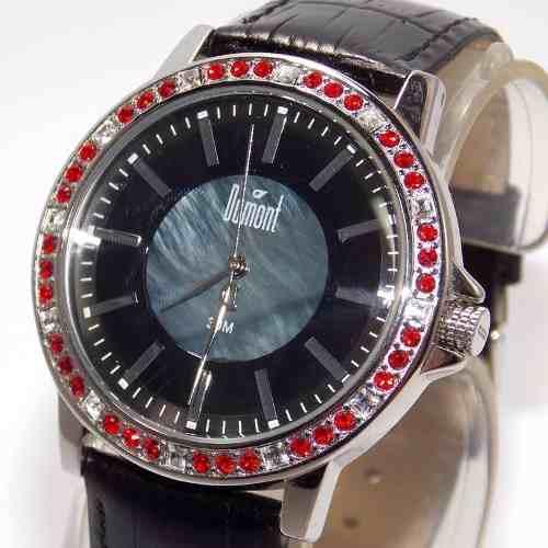 SX35196P Relógio Dumont Feminino Pulseira Couro Preto  - Alexandre Venturini
