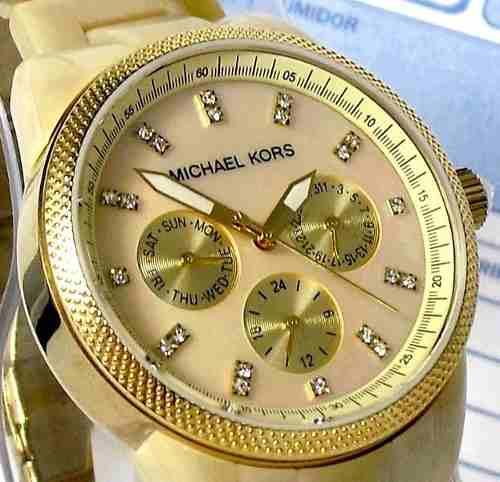 Relogio Feminino Michael Kors OMK5039Z Cronografo  - E-Presentes
