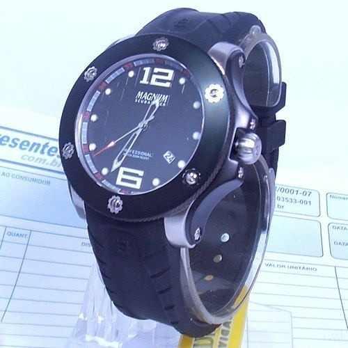 MA30865T Relógio Masculino Magnum Scubadiver Mergulho  - Alexandre Venturini