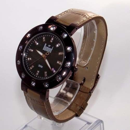 9da2fc3a1ce Relógio Dumont Vip Feminino 3 Pulseiras 3 Catracas SK60027R - E-Presentes