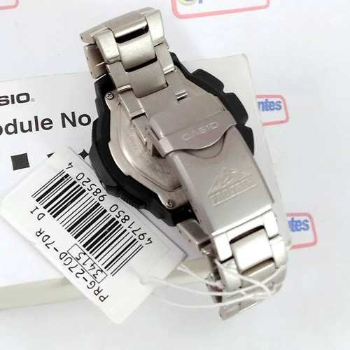 PRG-270D-7DR Casio Protrek Triplo Sensor Aço 100% Autentico  - Alexandre Venturini