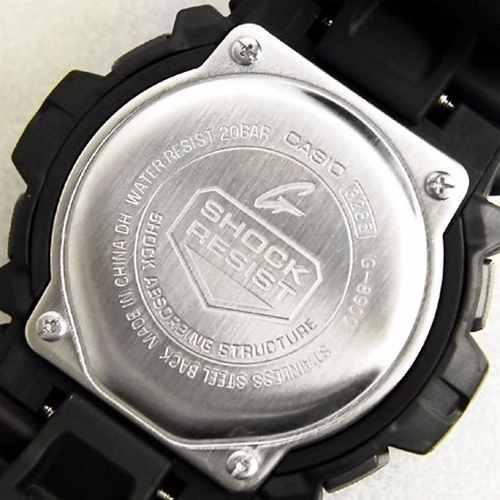 G-8900-1DR Relógio De Pulso Casio G-shock Serie Digital  - E-Presentes