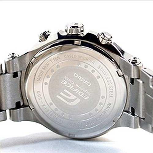 Relógio Casio Edifice EFX-500D 1A4V Gold Label Vidro Safira  - E-Presentes