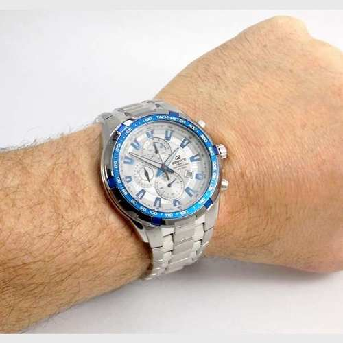 Relógio Casio Edifice EF-539D 7A2V Branco 100% Original  - Alexandre Venturini