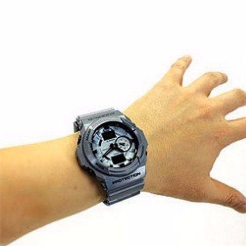 Ga-150a-2adr Relógio Casio Gshock, 200m, Analógico E Digi...  - E-Presentes