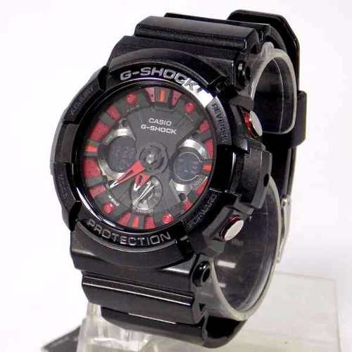 GA-200 SH1ADR Relógio Casio Gshock Metallic Colors Series  - E-Presentes