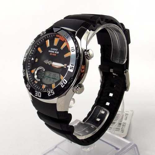 AMW-710 1AV Relógio Casio Marine Gear Graficos Mare Lua Novo  - Alexandre Venturini