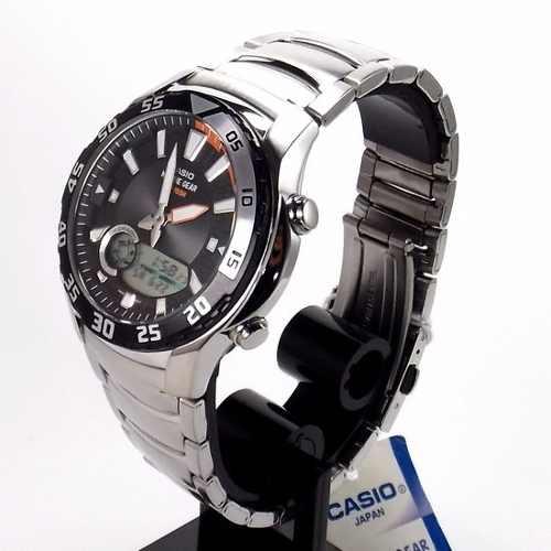 AMW-710D-1AVDF Relógio Casio Náutico Marine Gear Gráfico  - E-Presentes