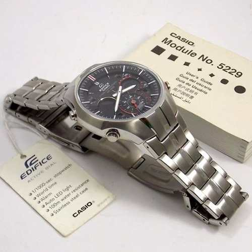 EFA-135D Relogio Casio Edifice Antimagnetismo 100% Original  - E-Presentes