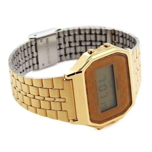 Relógio Feminino Dourado A159WGEA Casio Retro Vintage  - Alexandre Venturini