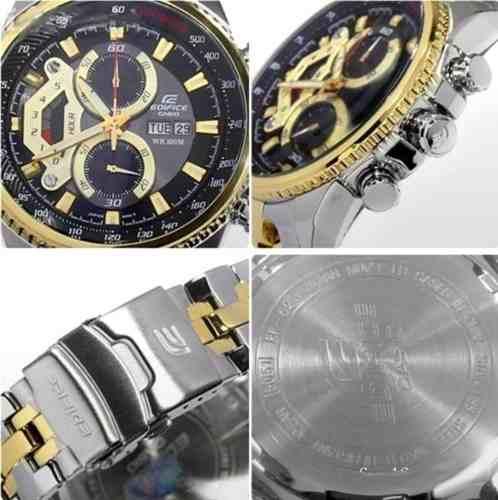 EF-558SG-1AV Relógio Casio Edifice Cronograph 100% Autentico  - E-Presentes