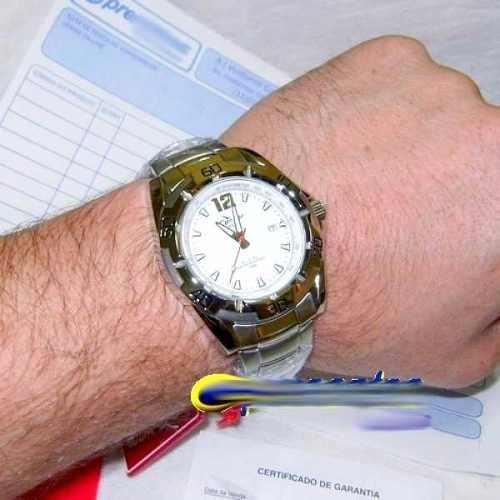 Relógio Condor New Masculino KC20047B Aço 100m Novo!  - Alexandre Venturini