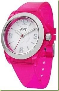 KM35424W Relógio Feminino Condor New Rosa Pink  - E-Presentes