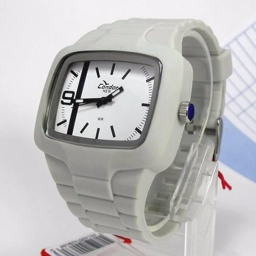 KM46458B Relógio Condor New Pulseira Poliuretano Analógo  - E-Presentes