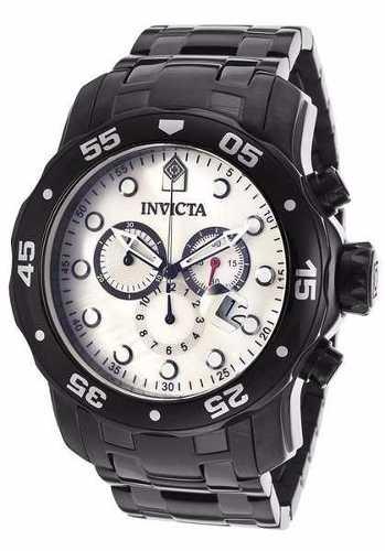Relogio Invicta 80076 Prodiver Cronograph Black Ion-plate  - Alexandre Venturini