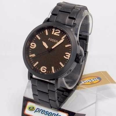Relogio Fossil FJR1393Z Preto Fosco Original 2anos Garantia  - E-Presentes