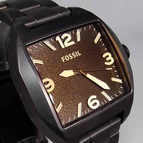 Relogio Masculino Fossil FJR1360Z Ipblack 2 Anos Garantia  - E-Presentes