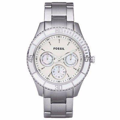 Relógio Feminino Fossil FES2783N Aço Mostrador Madreperola  - Alexandre Venturini