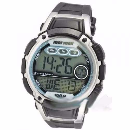 992aa2abd9d Relógio Mormaii Esportivo Digital YP7367 8C WR100 CRONO ALARME - E-Presentes