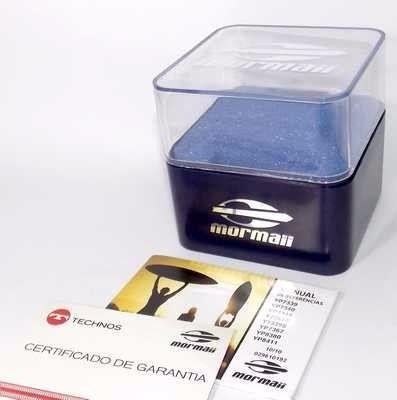 2035YH/8B Relógio Mormaii Esportivo Analogico Original Novo!  - E-Presentes