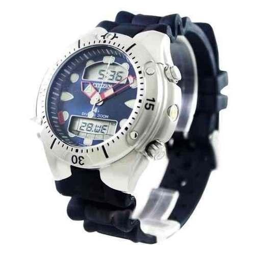 JP1060-01l Relógio Citizen Aqualand Original Profundímetro  - E-Presentes