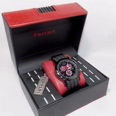 Relógio Ferrari Fuel FB003-P Masculino Original  - E-Presentes