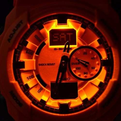 Relógio Casio Gshock Ga-150a-4adr Orange Analógico Digital  - Alexandre Venturini