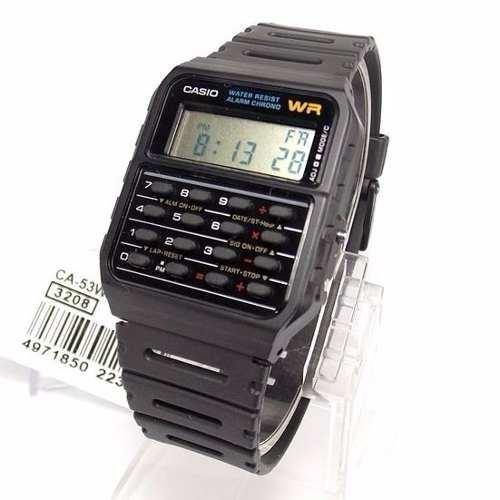 CA-53W 1Z Relógio Casio Calculadora Retro 100% Original CA53  - Alexandre Venturini