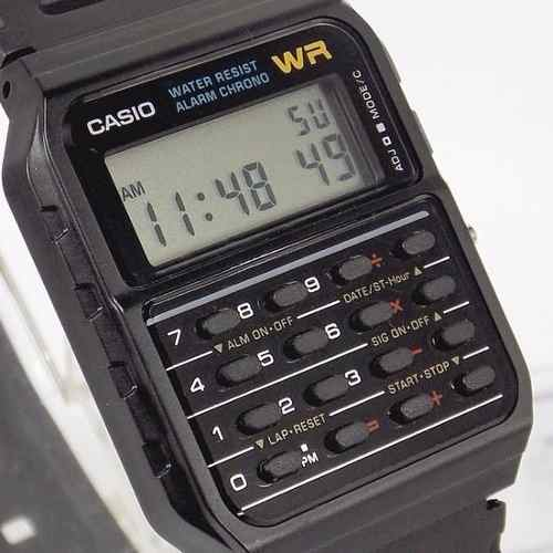 CA-53W 1Z Relógio Casio Calculadora Retro 100% Original CA53 - E-Presentes