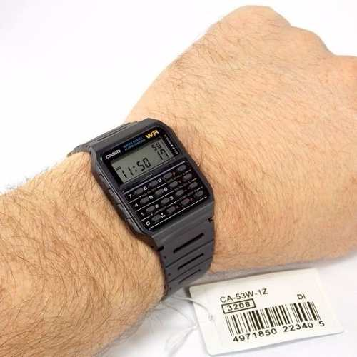 49fee0f1276 CA-53W 1Z Relógio Casio Calculadora Retro 100% Original CA53 - E-Presentes