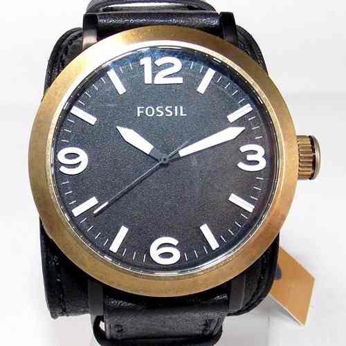 FJR1367Z Relógio Fossil Original Pulseira Couro Preto - Novo  - Alexandre Venturini