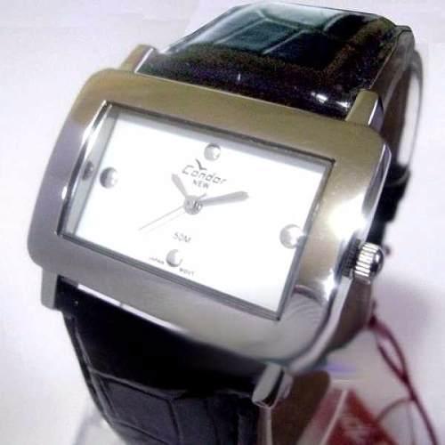 Kv35569p Relógio Feminino Pulseira De Couro Condor New  - E-Presentes