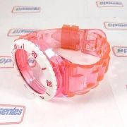 Pulseira Champion Rosa Claro Transparente - 100% Original